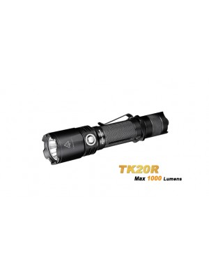 Fenix TK20R (Lampe torche rechargeable et 1000 Lumens + pile rechargeable incluse)