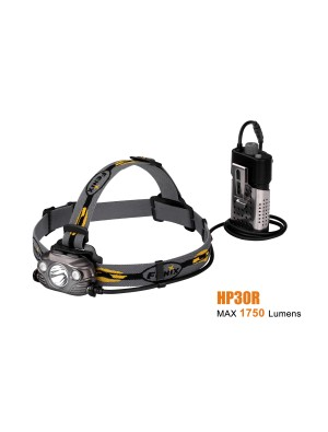Fenix HP30R rechargeable - 1750 Lumens + batterie incluse