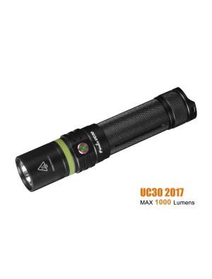 Fenix UC30 édition 2017 - 1000 Lumens rechargeable