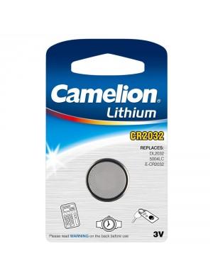 1 Pile CR2032 Lithium (sous blister - CAMELION)