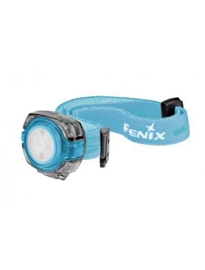 Lampe frontale LED Fenix HL05 (coloris bleu - avec piles)