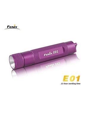 Fenix E01 (Couleur violette)