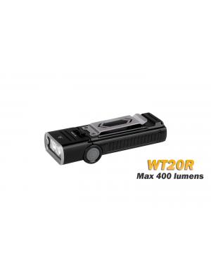Fenix WT20R - 400 lumens - lampe multifonction avec angle ajustable - batterie incluse rechargeable