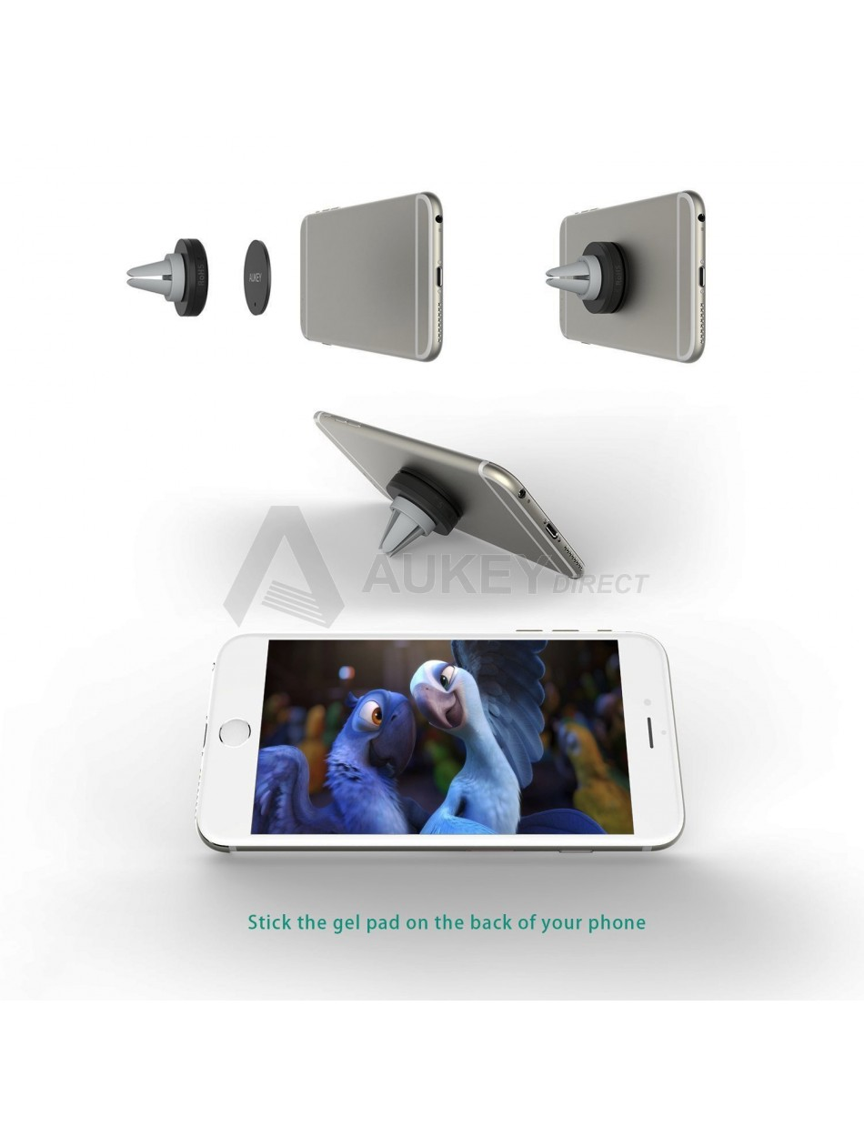 Magnetic universal smartphone car mount instructions