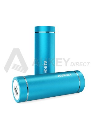 AUKEY PB-N37 Mini Power Bank external battery 5000mAh (Blue)