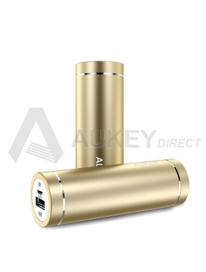 AUKEY PB-N37 Mini Power Bank external battery 5000mAh (Gold)