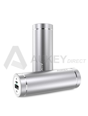 AUKEY PB-N37 Mini Power Bank external battery 5000mAh (silver)
