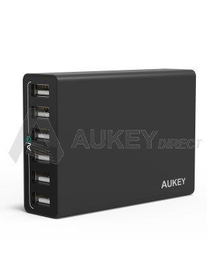 AUKEY PA-U14 wall charger AiPower (Black)