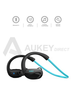 AUKEY EP-B34 wireless headphones Bluetooth 4.1 (Blue)