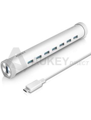 AUKEY CB-C18 USB C Ethernet Hub 7 ports