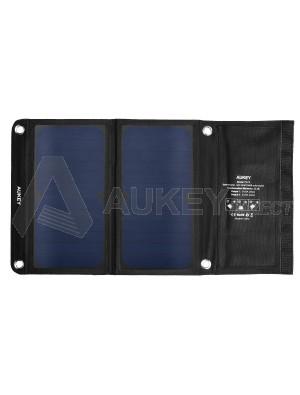 AUKEY PB-P3 Solar Panels Charger 14W 2 ports