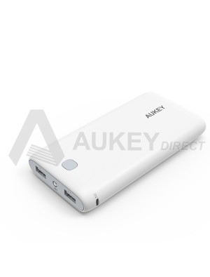 AUKEY PB-N15 Power Bank external battery 20000mAh (White)