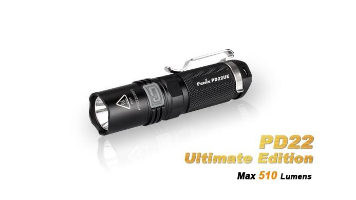 Fenix PD22UE Ultimate édition - 510 Lumens