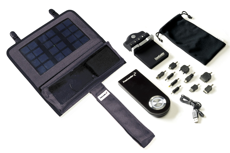 Kit chargeur solaire Globetrotter Pro -  Freeloader Pro + Super Chargeur Pro