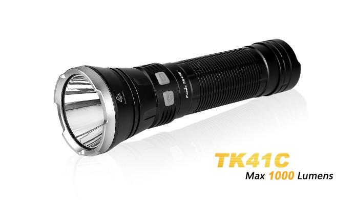 Fenix TK41C - 1000 Lumens - tricolore (bleu, blanc, rouge)