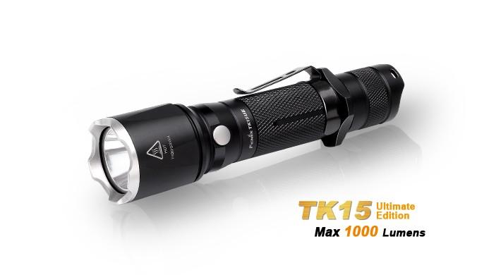 Fenix TK15 UE - Ultimate Edition 2016 - 1000 Lumens