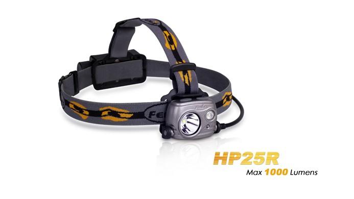 Fenix HP25R rechargeable - 1000 Lumens + batterie incluse