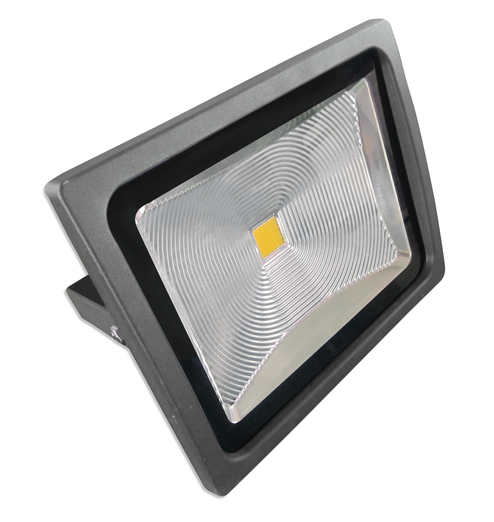 Projecteur LED 50W - Classique Premium - Corps Graphite - Blanc froid