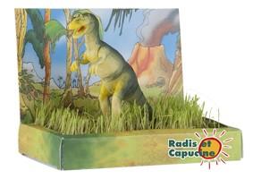 Jardin puzzle 3D dinosaure