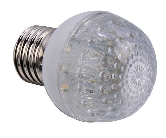 Ampoule LED E14 1,2W 220V blanc