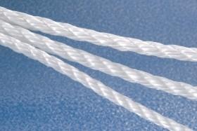 Cordage toronné polypropylène Blanc 10mm - 100 mètres