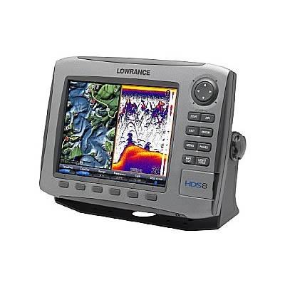 Sondeur GPS Lowrance HDS-8 avec sonde 50/200 TR