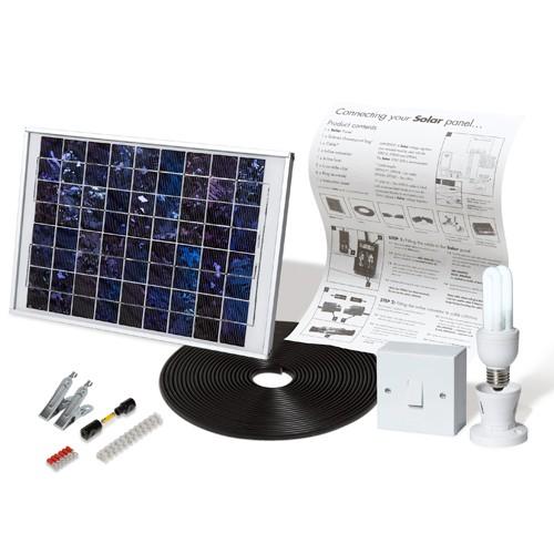 Solar Mate 1 - Kit d'éclairage solaire 5w