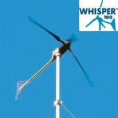 Éolienne marine WHISPER 100 - 900W, 12 A, (12, 24, 48V configurable) avec contrôleur