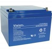 Batterie Vision LFP1225 - 12V 25Ah