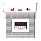 Batterie Rolls Motive Power Série FS 6V 260Ah(C20) - 6-FS-260