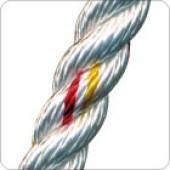Corde toronnée twist polyamide 200 mètres
