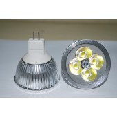 Spot LED MR16 4W 12V blanc chaud