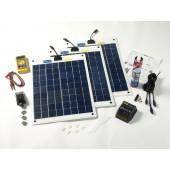 Kit solaire flexible complet 60w