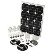 Solar Mate 4 - Kit d'éclairage solaire 28w (ampoules)