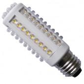 Ampoule LED E27 3,3W 220V blanc chaud 240LM