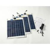 Kit panneaux solaires 60w flexible