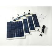 Kit panneaux solaires 80w flexible