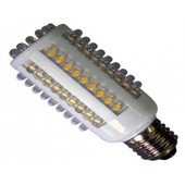 Ampoule LED E27 5W 220V blanc chaud