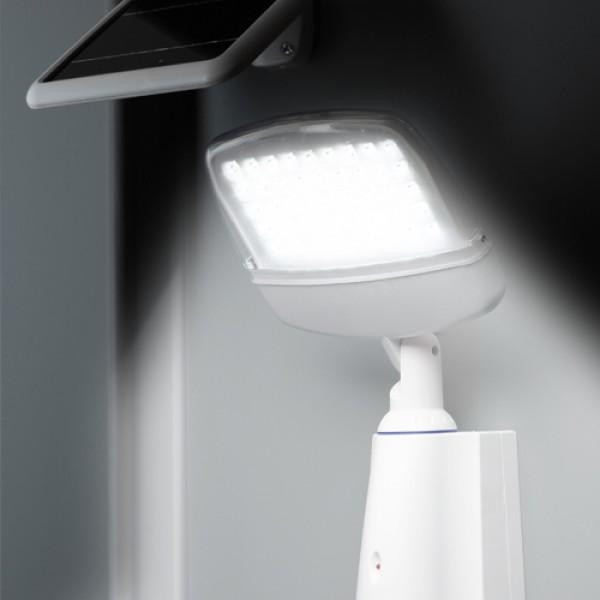 projecteur solaire avec détecteur de mouvement - solar mate secure pro
