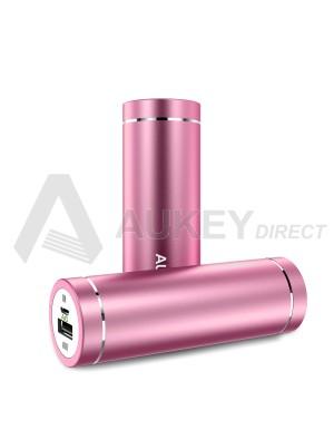 AUKEY PB-N37 Batteria Portatile 5000mAh (Rosa)