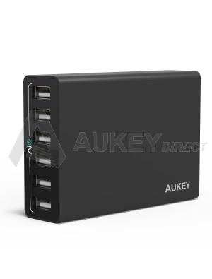 AUKEY PA-U14 caricabatterie da parete AiPower (Nero)