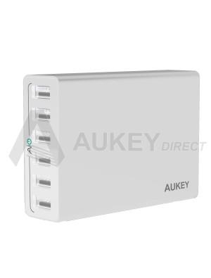 AUKEY PA-U14 caricabatterie da parete AiPower (Bianco)
