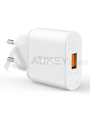 AUKEY PA-U28 Caricabatteria da muro Quick Charge 2.0 (Bianco)