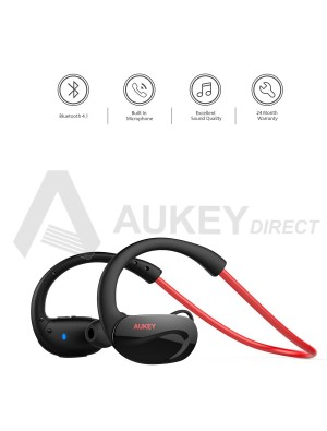 AUKEY EP-B34 Cuffie Bluetooth 4.1 (Rosso)