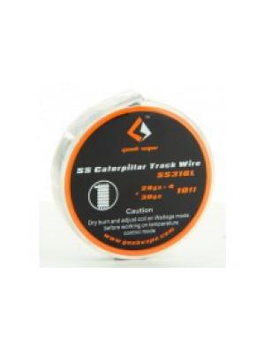 Caterpillar Track SS 316 28GAx4+30GA 3m Geek Vape