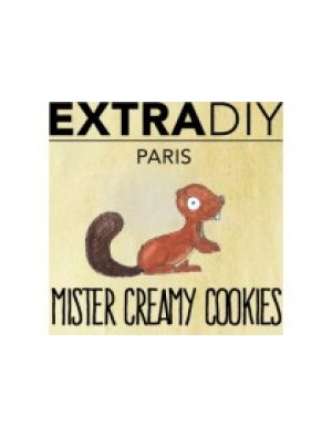 Mister Creamy Cookies Aromes Extradiy Extrapure 10ml