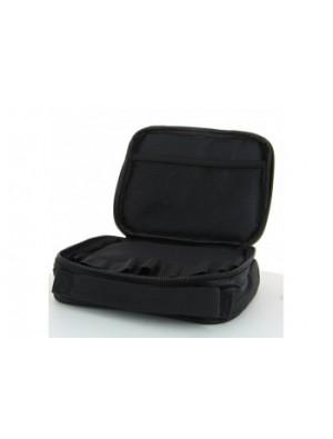 Sacoche rangement 20 x 17cm avec poignée tissu Noir