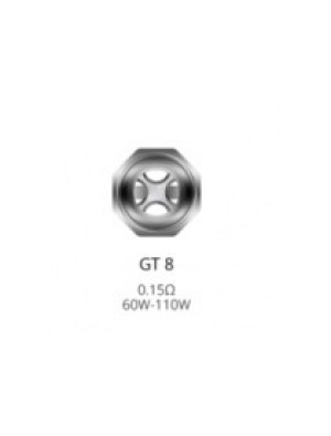 Pack de 3 resistances GT8 Core 0.15ohm NRG Vaporesso