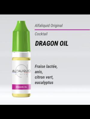 Gamme de liquide ALFALIQUID 10ml goût Dragon Oil
