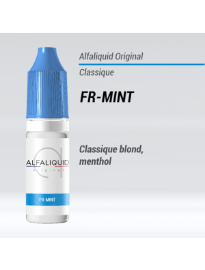 Gamme de liquide ALFALIQUID 10ml goût FR Mint
